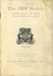 1909 CHALMERS-DETROIT THE 1909 MODELS 6.75″×9.5″ page 1
