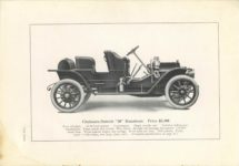 1909 CHALMERS-DETROIT THE 1909 MODELS 6.75″×9.5″ page 20