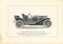 1909 CHALMERS-DETROIT THE 1909 MODELS 6.75″×9.5″ page 26