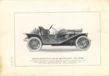 1909 CHALMERS-DETROIT THE 1909 MODELS 6.75″×9.5″ page 28