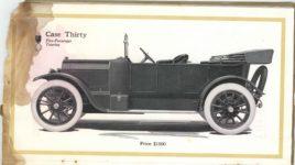 1913 CASE Automobiles Nineteen Thirteen 5.75″×10″ page 28