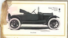 1913 CASE Automobiles Nineteen Thirteen 5.75″×10″ page 30