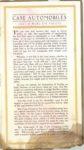 1913 CASE Automobiles Nineteen Thirteen 5.75″×10″ page 5