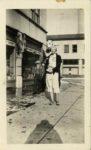 1938 ca. Fern Dale, born 1917 Syracuse, N. Y. snapshot 2.75″×4.5″ front