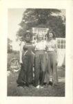 1938 ca. Fern Dale, born 1917 and friends snapshot 2.75″×3.75″