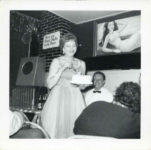 1955 ca. Fern Dale, born 1917 at the Flame Bar Minneapolis snapshot 3.5″×3.5″
