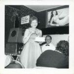1955 ca. Fern Dale, born 1917 at the Flame Bar Minneapolis snapshot 3.5″×3.5″