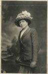 1910 ca. maybe Josephine Murphy THE PALACE STUDIOS ATLANTIC CITY, N. J. postcard 3.5″×4.25″