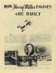 1929 ca. Harry Miller Engines and Cars How Harry Miller Engines ARE BUILT repro 8.5″×11″ page 2