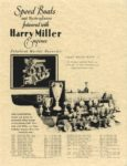 1929 ca. Speed Boats and Hydroplanes powered with Harry Miller Engines repro 8.5″×11″ front