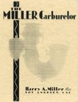 1929 ca. THE MILLER Carburetor repro 8.5″×11″ front