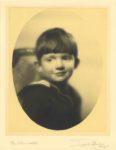 1934 Cute boy portrait Blackstone Hotel Teick Studios Chgo '34