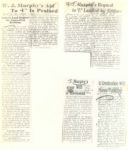 1939 1 21 W. J. Murphy Editors Laud Bequest