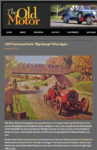 """1909 Chalmers-Detroit 1909 Fairmount Park: """"Big George"""" Wins Again The Old Motor Jan 6, 2012 page 1"""