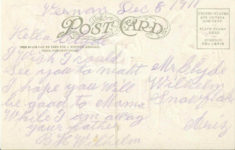 1909 I CAN'T TELL HOW I MISS YOU BUT I DO-DO-DO by H. H. Tammen comic postcard back