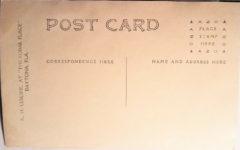 1909 ca. FIAT Cyclone Daytona, FLA RPPC eBay postcard back
