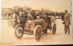 1909 ca. FIAT Cyclone Daytona, FLA RPPC eBay postcard front