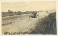 1911 AUTO RACE JULY 4th GARDEN CITY, KANSAS RPPC front