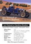 1911 National 40 Speedway Roadster trading card v2
