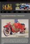 """1913 BiAutogo James Scipps Booth BiAutogo – """"A Motorcycle Car"""" The Old Motor Apr 15, 2014 page 1"""