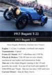 1913 Bugatti T-22 trading card