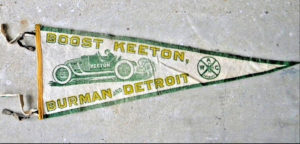 1913 KEETON pennant eBay screenshot