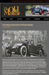 1913 Keeton and Bermans 1913 Indy Attempt The Old Motor Dec 23, 2011 page 1
