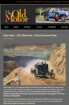 1916 Hudson Peter Helck 1916 Pikes Peak Mulfords Record Climb The Old Motor March 12, 2012 page 1