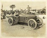 1916 Johnny Aitken PEUGEOT IMS 6408 Coburn Photo Indianapolis IND 10″×8″ photo front