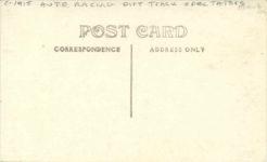 1917 ca. Miller Golden Submarine on right RPPC back