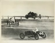 1920s ca. Early Auto Racing Howdy Wilcox, Ernie Tripplet, Carl Ryder 10″×8″ photo front