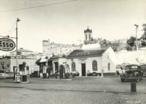 1939 8 7527 RIVER ST TROY NY AUG 39 ESSO COLONIAL STATION 9.25″×6.75″ photo front