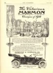 1911 3 9 MARMON The Victorious MARMON THE AUTOMOBILE 8″×11.5″ page 156
