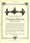 1911 9 27 Timken Detroit 1912 Axle Talks picture of a rear end THE HORSELESS AGE 8″×11.5″ page 4 1