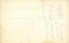 1911 ca. NATIONAL with 1914 plates RPPC back