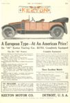 1913 1 16 KEETON A European Type At An American Price THE AUTOMOBILE 7″.75×11.5″ page 151