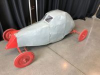 2019 3 2 1917 Golden Submarine pedal car STEP BACK IN TIME Boyle Racing Indianapolis, IND