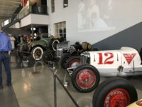 2019 3 2 1915 PACKARD Indy 500 Pace Car on left Cars at STEP BACK IN TIME Boyle Racing Indianapolis, IND