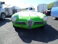 2019 4 14 1957 ALFA ROMEO Giulietta Spider Sonoma front