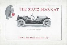 1912 STuTZ THE STUTZ BEAR CAT The Car that Made Good in a Day page 1