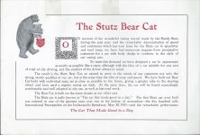 1912 STuTZ THE STUTZ BEAR CAT The Car that Made Good in a Day page 2