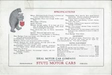 1912 STuTZ THE STUTZ BEAR CAT The Car that Made Good in a Day page 4