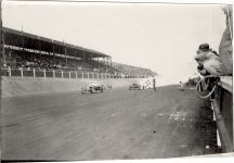 1909 CHALMERS DETROIT Atlanta Speedway Chalmers Detroit racecars Car 19 Bert Dingley Car 17 Billy Knipper photo Burton Historical Collection Detroit Public Library