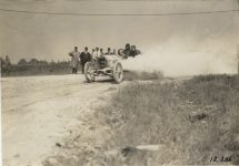1909 CHALMERS DETROIT Crown Point Races Billy Knipper driving photo Burton Historical Collection Detroit Public Library