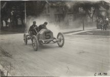 1909 CHALMERS DETROIT Crown Point Races Car 5 Billy Knipper photo Burton Historical Collection Detroit Public Library