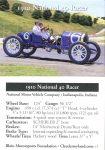 1910 National 40 Racer trading card v1