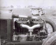 1913 KEETON Indy 500 Bob Burman engine intake side IMS photo