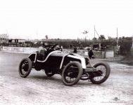1913 KEETON Indy 500 Bob Burman right side IMS photo right