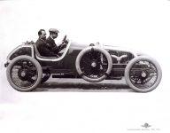 1913 KEETON Indy 500 Bob Burman right side IMS photo