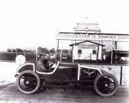 1913 KEETON Indy 500 Bob Burman right side Wheeler Schebler Carburetor IMS photo